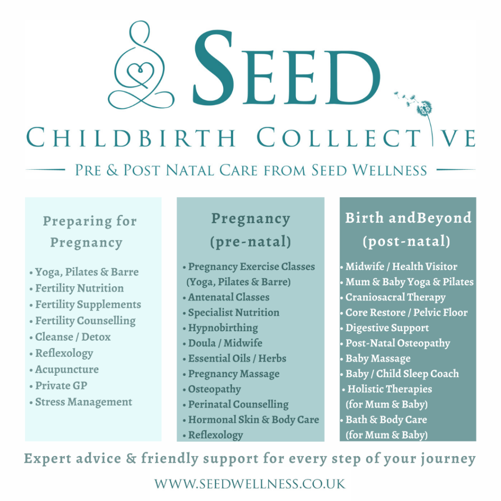 seed childbirth collective, pregnancy, prenatal care, post natal care, NCT, nct beaconsfield, nct marlow, childbirth support, newborns, babies, mum to be, parents, miscarriage, stillbirth, pregnancy yoga, pregnancy pilates, pregnancy reflexology, pregnancy supplements, pregnancy vitamins, post natal depression, mother and baby groups beaconsfield, marlow mums, beaconsfield mums, baby craniosacral therapy, colic, baby sleep coach, seed wellness, seed,
