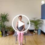 5 min chair yoga, chair yoga, kristina carman yoga, seed yoga